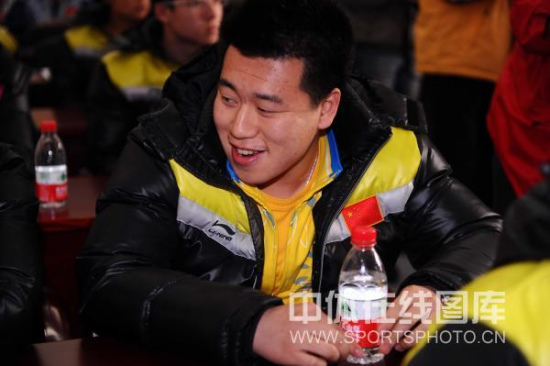 图文-国际射联世界杯新闻发布会举行奥运冠军庞伟