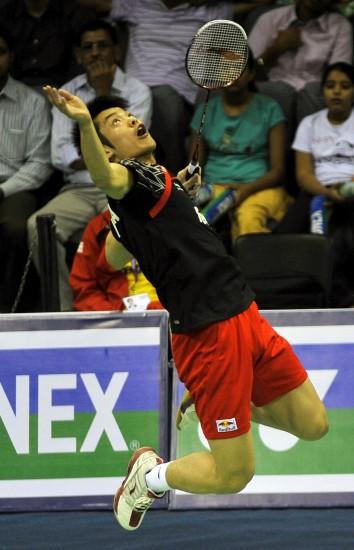 2010年羽毛球亚锦赛赛况 超级丹空中扣杀
