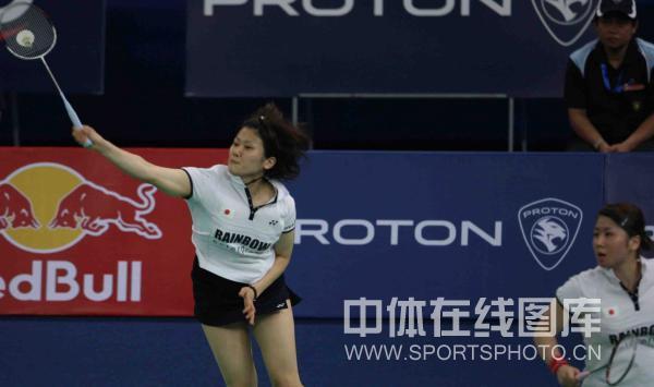图文-尤伯杯韩国3-1日本闯入决赛日本女将跳起杀球