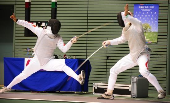 图文-男子花剑大奖赛日本站东京开赛中国选手张亮亮