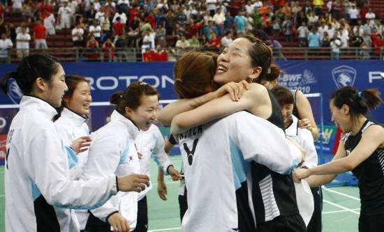 图文-尤杯决赛中国1-3韩国丢冠韩国队上演奇迹