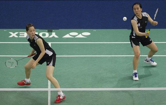 图文-尤杯决赛中国1-3韩国丢冠李敬元组合拿下关键分
