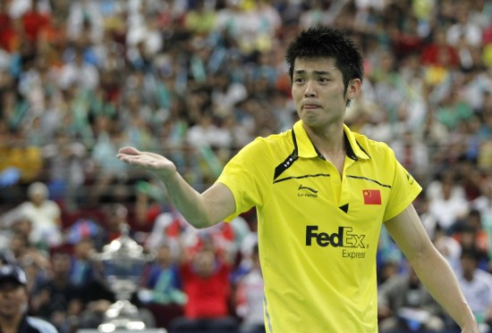 图文-中国队豪取汤姆斯杯四连冠不好意思又横扫