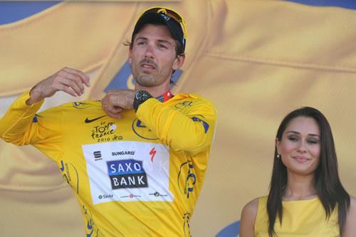 图文-环法自行车赛第五赛段坎塞拉拉留住黄衫