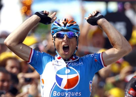 图文-2010环法各赛段英雄榜第16赛段冠军费德里戈