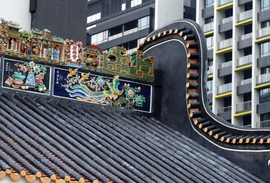 建设岭南水乡主题建筑,包括岭南水乡民俗建筑,岭南园林和水乡民俗风情图片