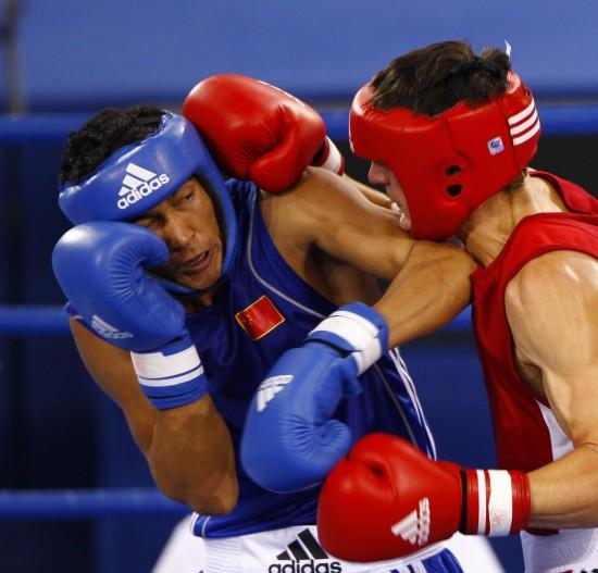 图文-[武搏会]拳击比赛第二日赛况双拳都难以抵挡