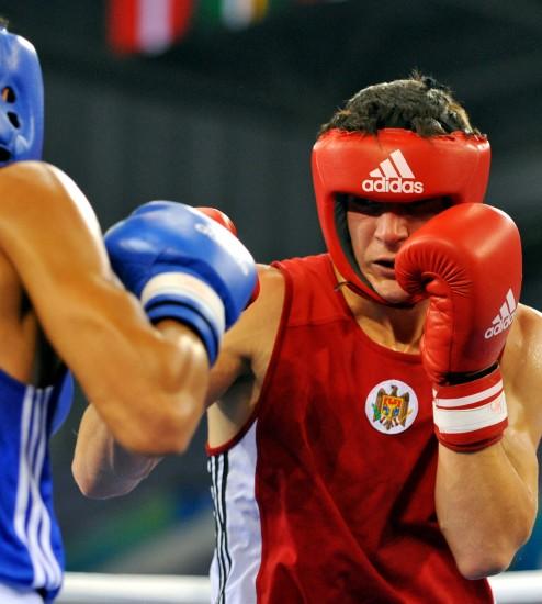 图文-[武搏会]拳击比赛第二日赛况冠军虎视眈眈