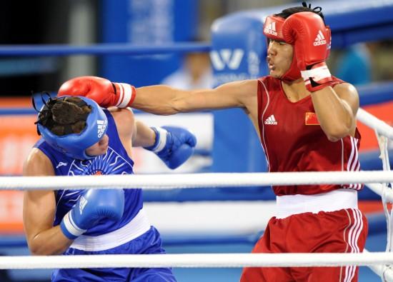 图文-[武搏会]孟繁龙获81公斤级冠军长拳霸气十足