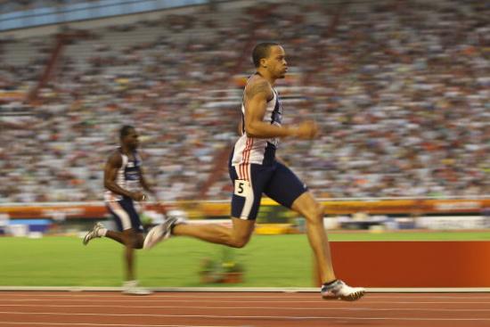 图文-洲际杯男子200米斯皮尔蒙夺冠斯皮尔蒙加速