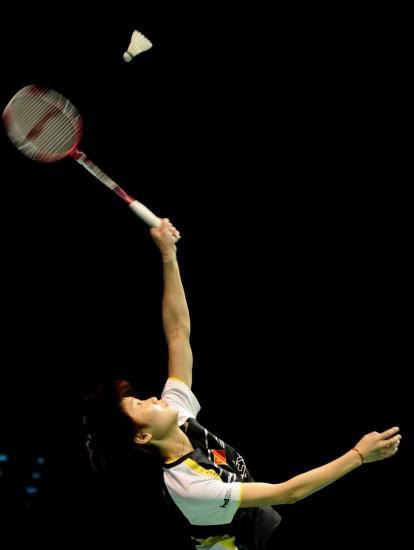 图文-中国大师赛女单半决赛汪鑫决赛约战老对手