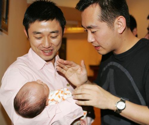 图文-国球奥运冠军的孩子们孔令辉成阎森儿子粉丝