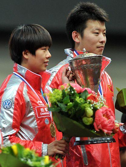 张超成国乒新世界冠军