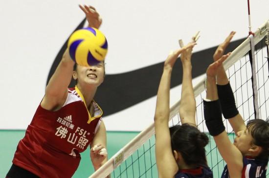中国女排胜韩国进决赛