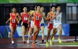 李明杰在1500米比赛中
