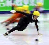 赵晶3000米比赛中
