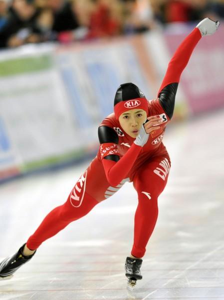 图文-世界杯柏林站赛况 王北星获女子500米第