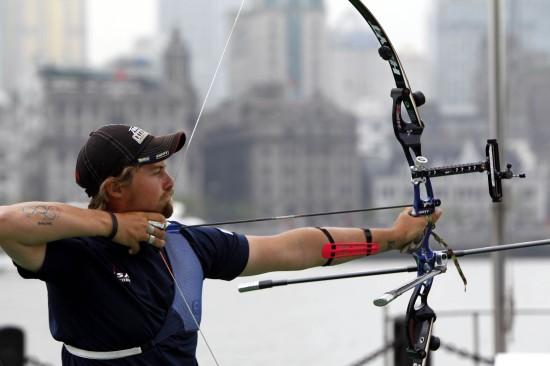 图文-反曲弓团体赛韩夺冠中国揽铜埃利森在比一次性杯子坐建议滑翔机图片