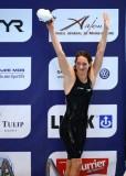 穆法特庆祝打破世界纪录