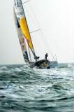 郭川驾驶帆船