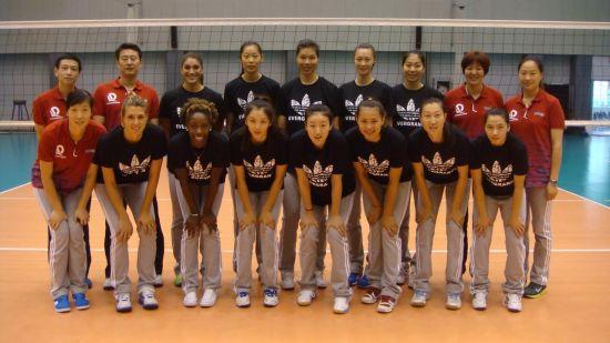 广东恒大女排名单_图文-2013世界女排俱乐部锦标赛