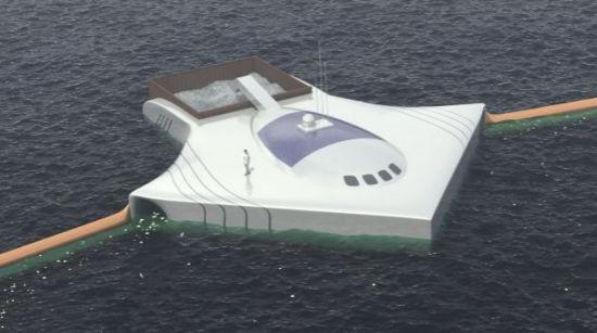 荷兰少年新发明5年清理完海洋垃圾