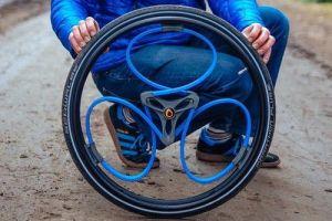 新型减震车轮可用于轮椅和自行车