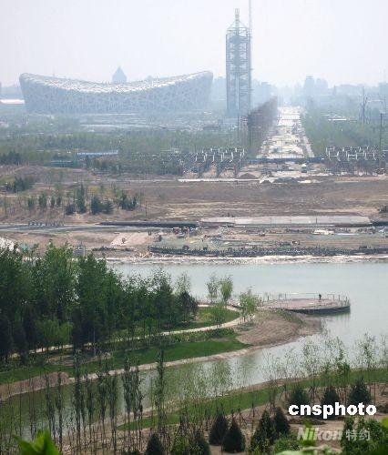 中国新闻网:在鸟巢感受民众奥运热情