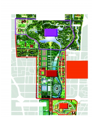 奥运心脏12平方公里公园公共区成最大的场馆聚集群