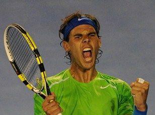 澳网纳达尔强势逆转10连胜伯蒂奇半决赛战费德勒