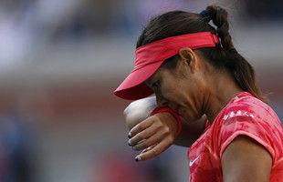 李娜受困失误救六赛点仍不敌小威无缘美网决赛