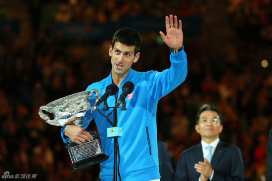 小德成就澳网五冠王