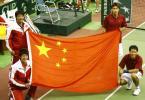 图文-戴维斯杯亚大区Ⅱ组中国队完胜在五星红旗下