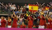 图文-联杯半决赛中国vs西班牙西班牙人的狂欢