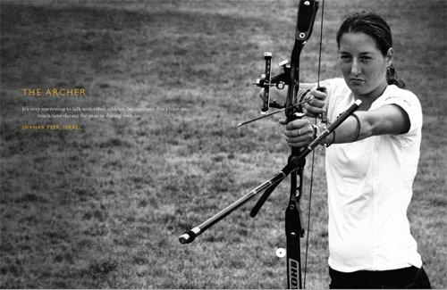 图文-北京奥运画册上的网坛明星她就是神枪手