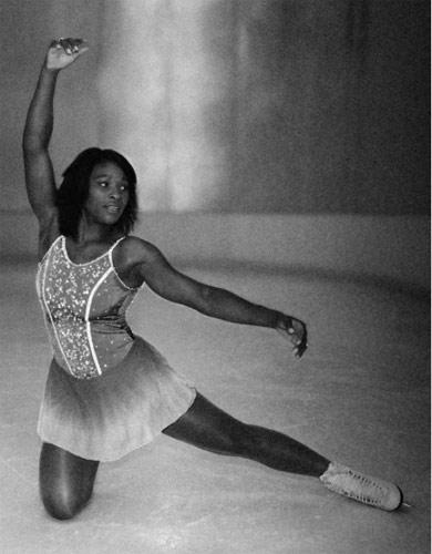 图文-北京奥运画册上的网坛明星小威也玩花滑