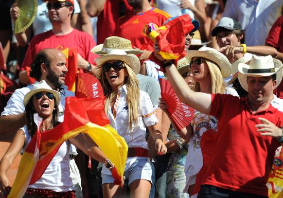 狂热的西班牙球迷