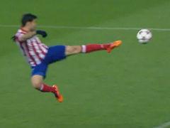 进球视频-科克精准传中 科斯塔飞身凌空垫射破米兰