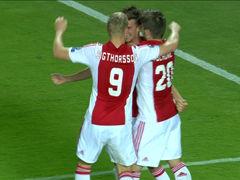 丹麦妖星补射破门 阿贾克斯1-1希腊人
