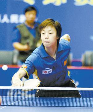 三代一姐领军中国女乒五朵金花竞逐三奥运参赛名额