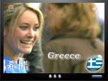 希腊佳人女神般的微笑