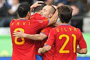 热身赛西班牙3比2险胜沙特