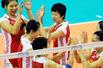 中国女排3-0完胜进四强 半决赛战日本
