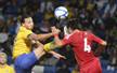 热身-国足0-1瑞典