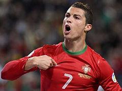 C罗戴帽瑞典2-3葡萄牙