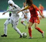 图文-中国女足10-1约旦