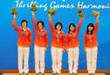 中国队夺得金牌