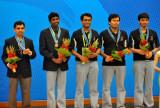 印度队摘得铜牌