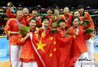 图文-女篮决赛中国夺冠 留下这一刻