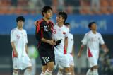 中国球员赛后离场